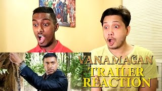 Vanamagan Trailer Reaction & Review | Jayam Ravi | PESH Entertainment