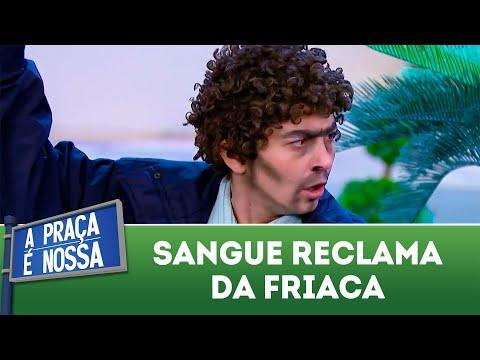 Sangue reclama da friaca | A Praça é Nossa (28/06/18)