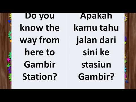 Learn English And Indonesian Phrases / Belajar Ungkapan Bahasa Inggris Dan Bahasa Indonesia #bahasa