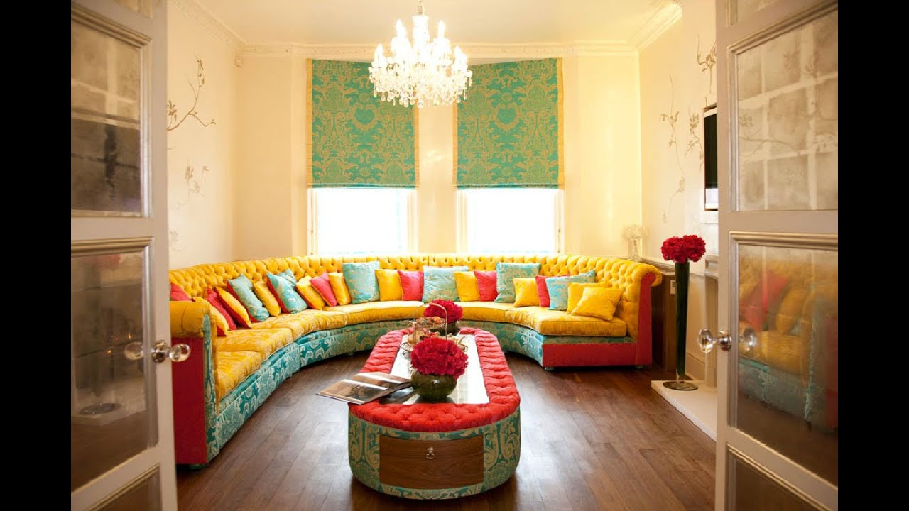 30 Refreshing, Bright, Colorful Interior Design Ideas