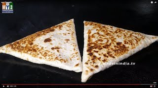 Flat Indian Bread With Egg   Egg Chapathi   VERY RARE STYLE OF MAKING CHAPTHI   STREET FOOD