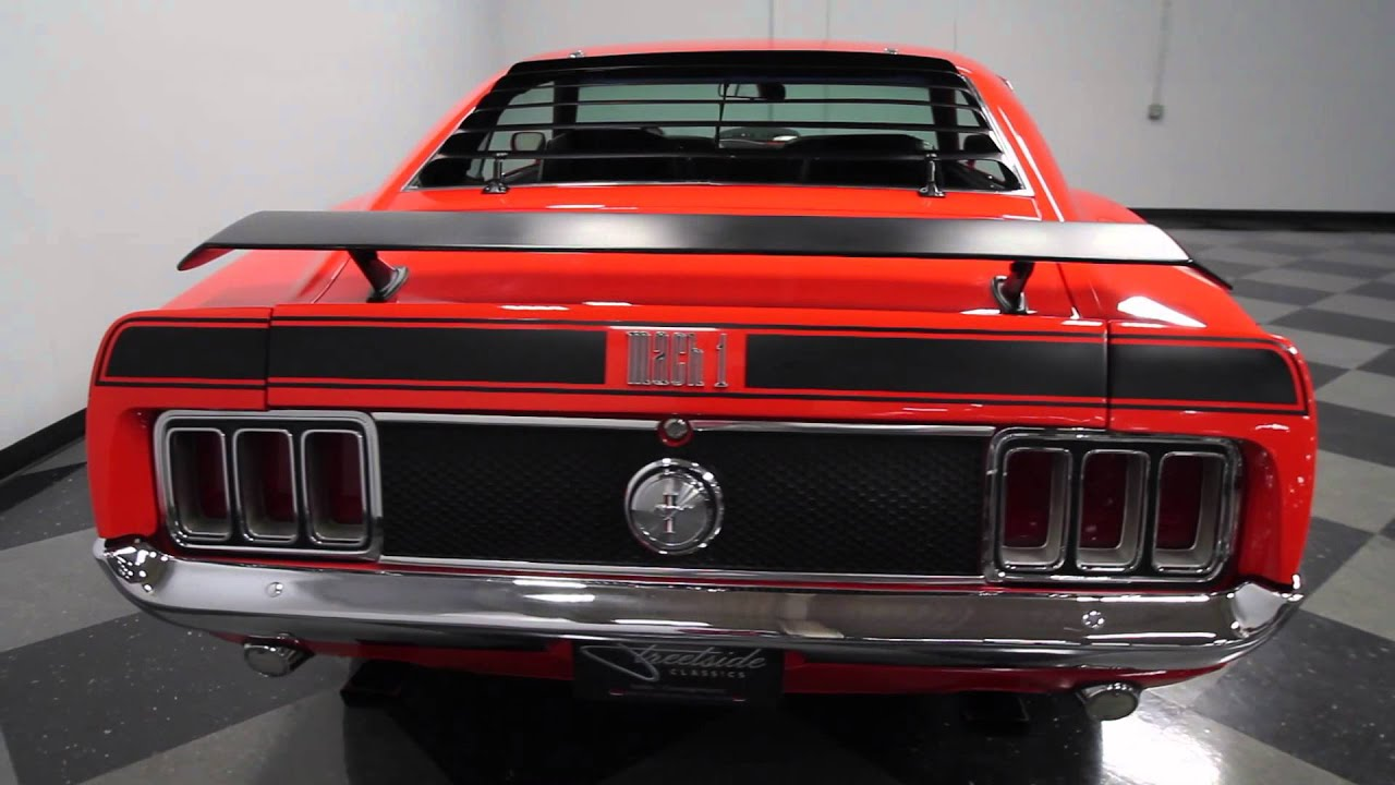 3112 CHA 1970 Ford Mustang Mach 1  YouTube