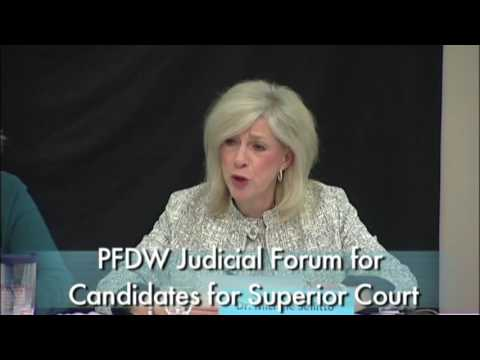 From Both Sides April 2017 PFDW Superior Court Judicial Forum