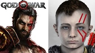 God of War (PS4): Cicatrices de Atreus; ¿Es reencarnación de Deimos?