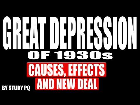 The Great Depression In Urdu/Hindi