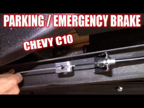 Install Parking Brake Cable Chevy C10