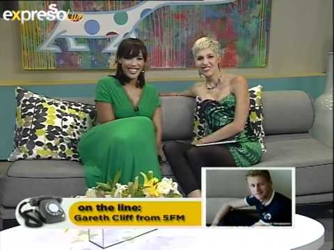 Gareth Cliff Arrested : Live interview on expresso (07.03.2012)