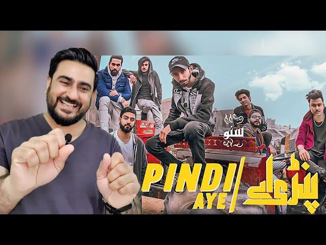 Pindi Aye Reaction Feat. Hashim Nawaz, Khawar Malik, Fadi, Osama Com Laude