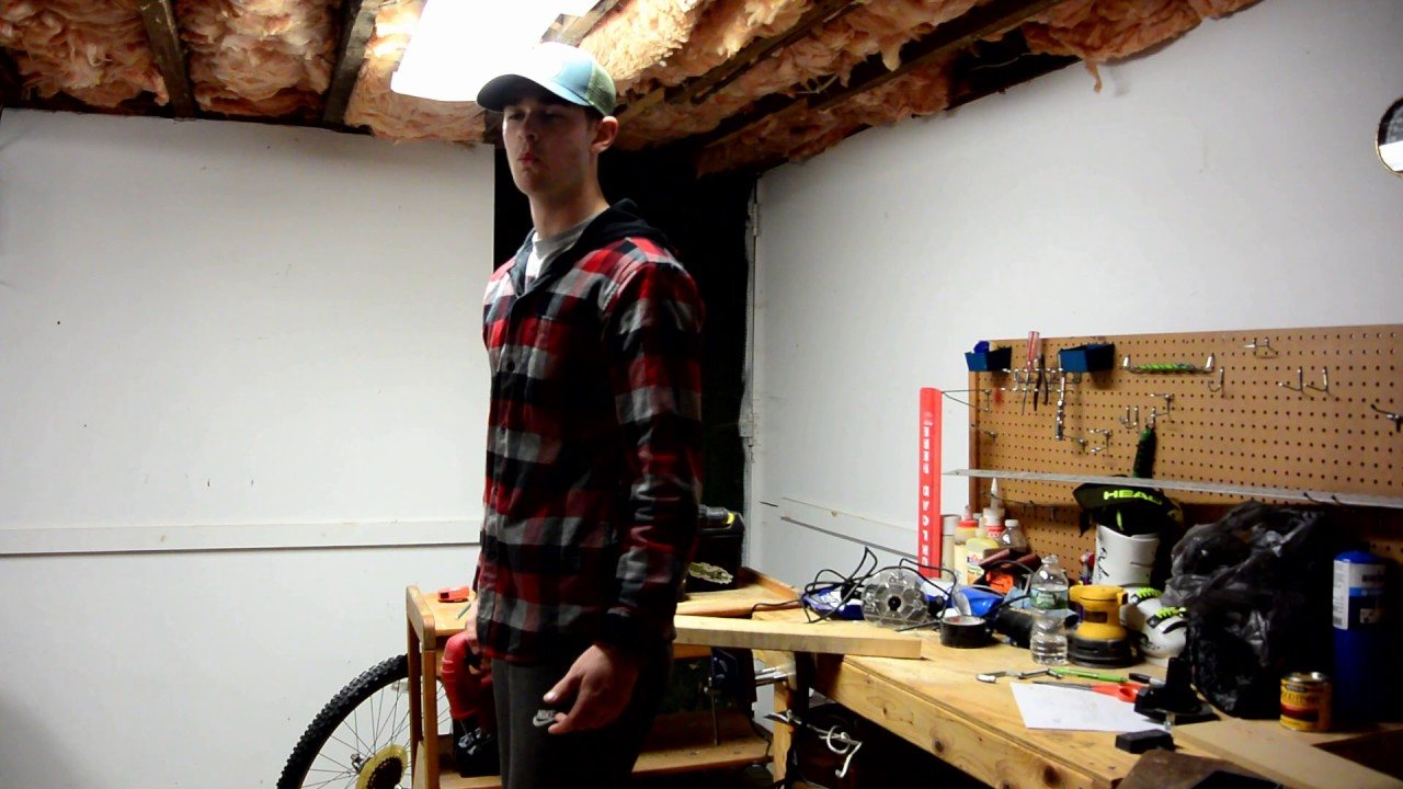 how to make a ski rail out of wood