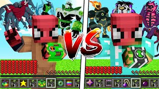 FAKİR OMNİTRİX VS ZENGİN OMNİTRİX (KAZANANA ULTİMATRİX!) - Minecraft