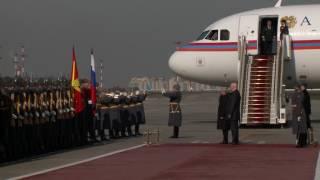 Սերժ Սարգսյանը ժամանեց Մոսկվա