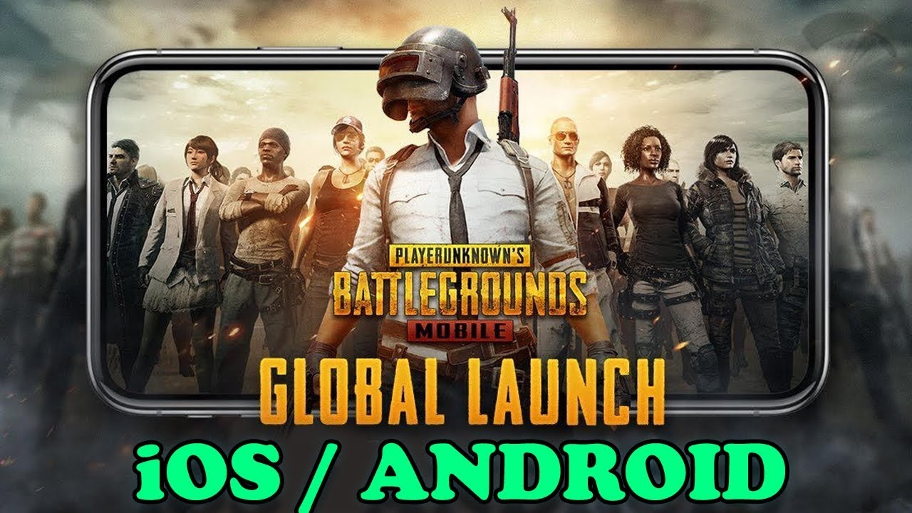 PUBG MOBILE - GLOBAL LAUNCH GAMEPLAY - YouTube