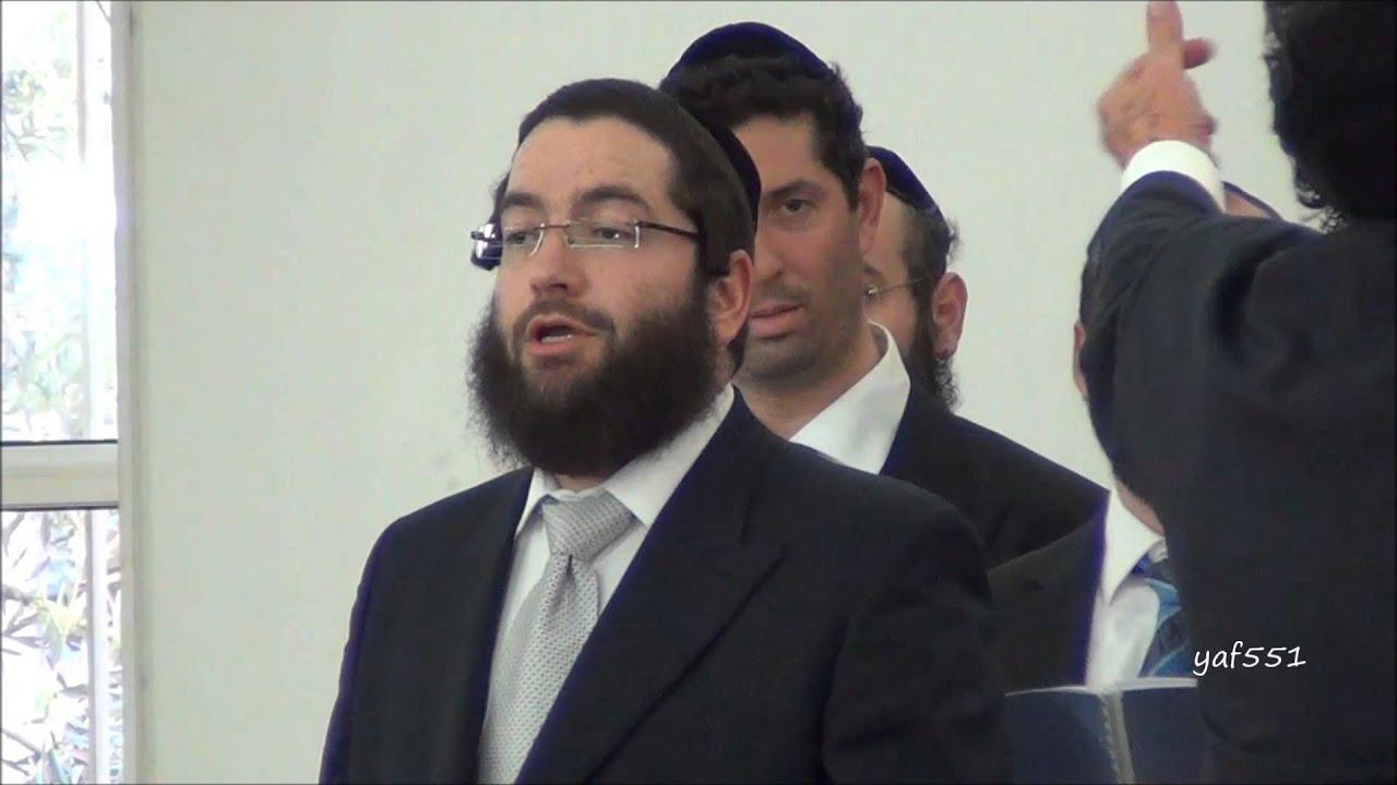Lomir Zich Hiberbatyn sung Cantor David Weinbach