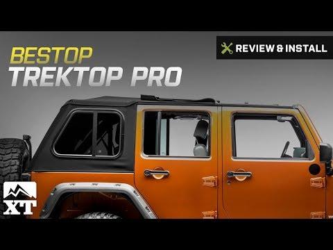 Jeep Wrangler (2007-2017 JK) Bestop Trektop Pro Review & Install