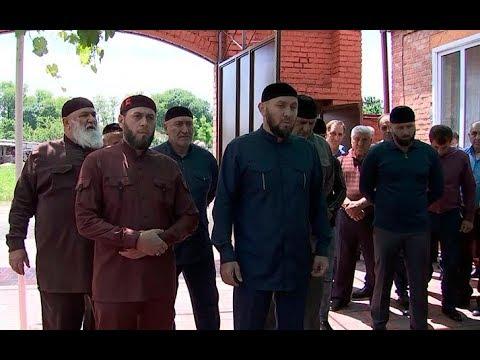 Делегация из Чечни