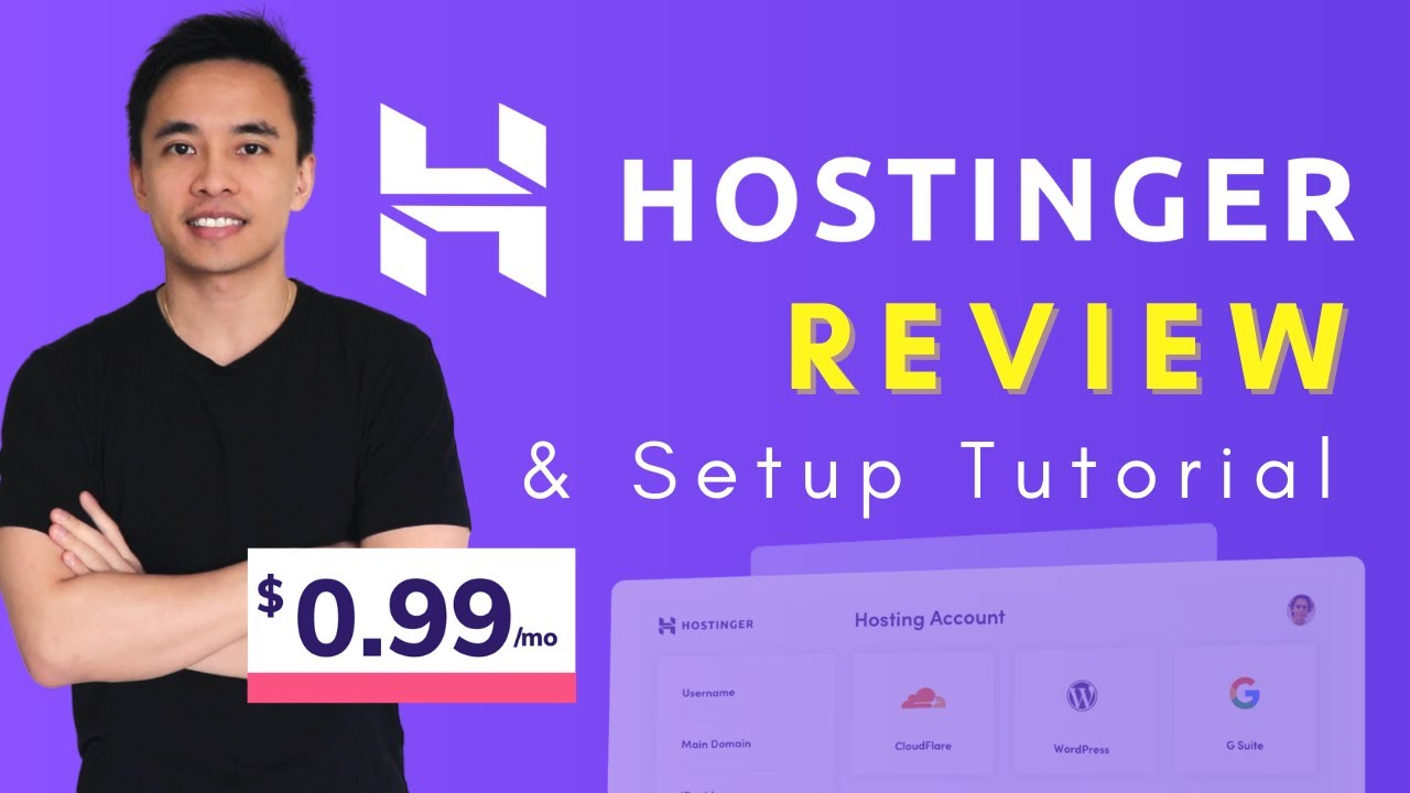 Hostinger Review & WordPress Setup Tutorial - Best Cheap Web Host 2021?