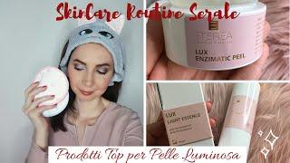 Skincare Routine Serale 🌙 Prodotti fantastici per una pelle luminosa + una delusione | chiore83