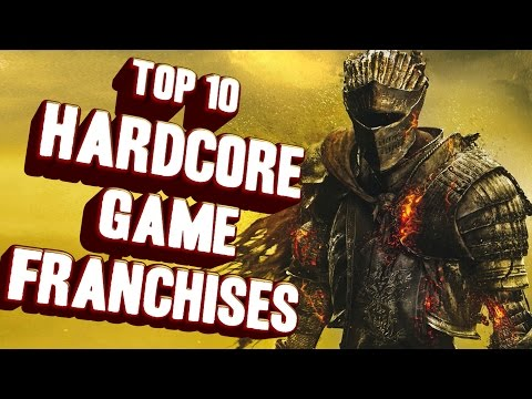 Top 10 - Hardcore game franchises