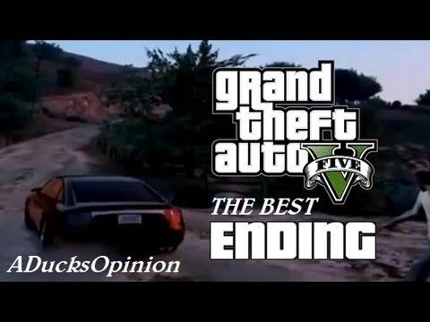 Best option gta 5 last mission