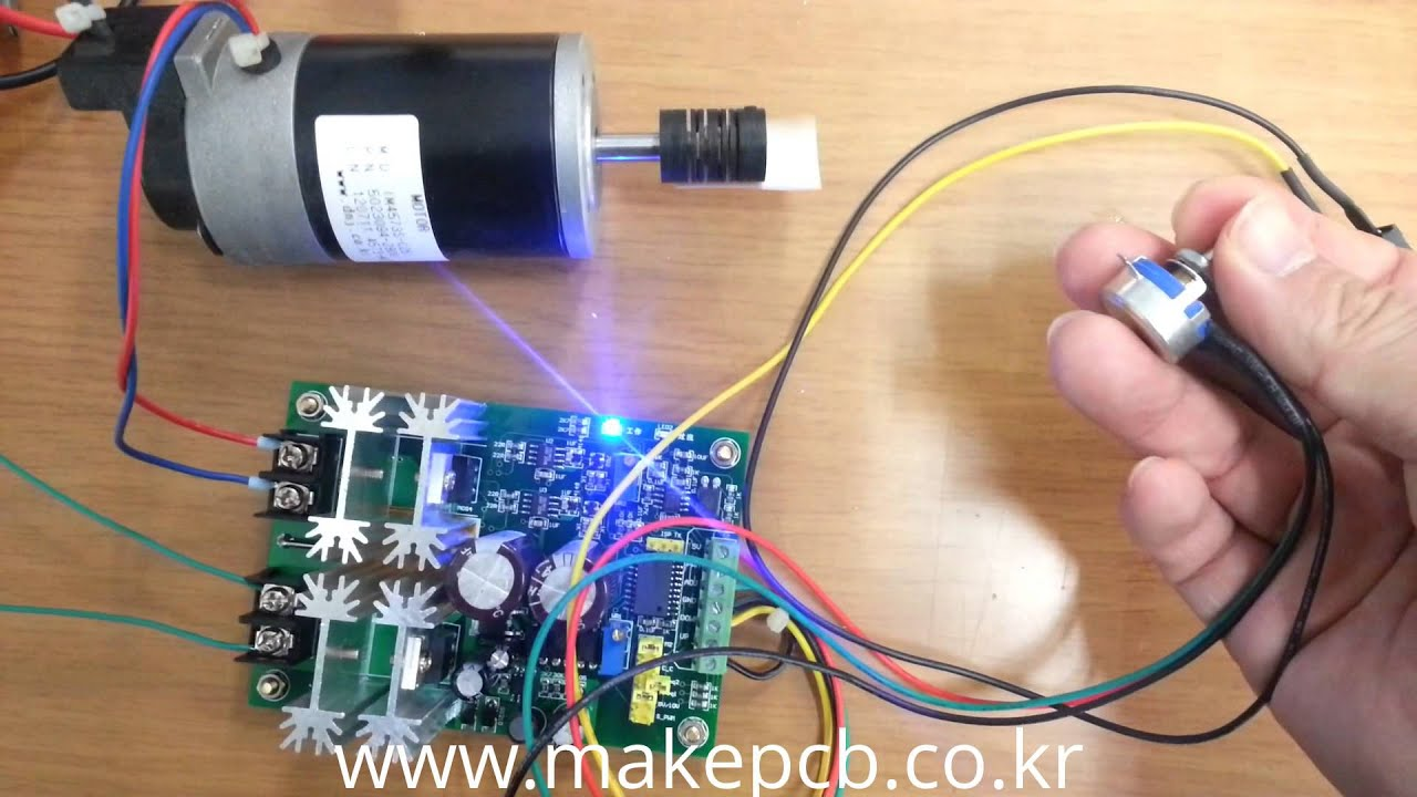 Dc Motor Driver Dc10v 60v 20a Controllable By Micom Pwm Three Phase Control Circuit Dual H Bridge Controller Youtube Premium