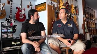 Al´s TV presents : PABLO GARCIA (WARCRY ) AGM  ROCK SCHOOL  Entrevista en Exclusiva