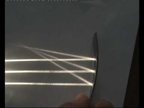 Reflection Of Parallel Light Beams From A Concave Mirror