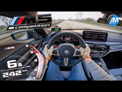 M5 Competition LCI (625hp) | 0-200 km/h sub 10 seconds🤯 | by Automann in 4K