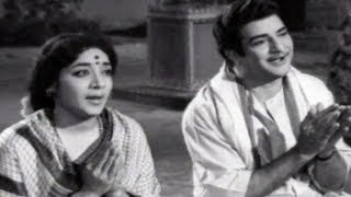 Dhanama Daivama Telugu Movie Songs - Rama Sree Rama - NTR, Jamuna