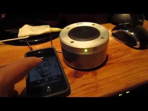 Altec Lansing Orbit iMT237 iPhoneMP3 Speaker