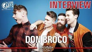 DON BROCO - interview @Linea Rock 2016