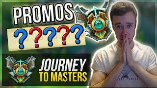 MASTER PROMOS... | Journey To Masters #32 - League of Legends