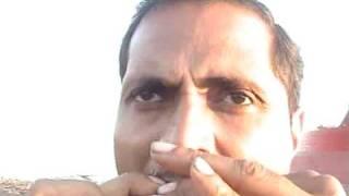 Aawara hoon  -  on harmonica