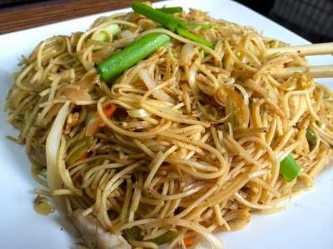 Chinese Chicken Noodles - video recipe - YouTube