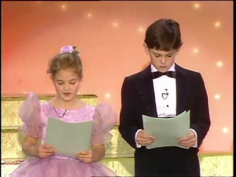 Drew Barrymore & Henry Thomas Reading   Golden Globes 1983