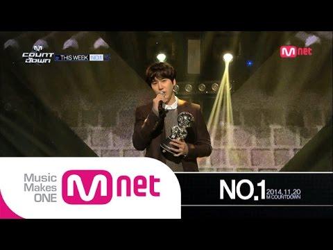 Mnet [엠카운트다운] Ep.403 : No.1 Of The Week, 규현(KYUHYUN) - 광화문에서(At Gwanghwamun) @MCOUNTDOWN_141120