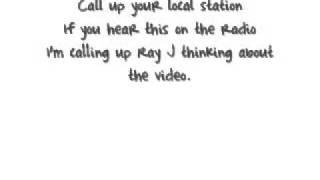 Ray j ft Bobby Brackins - 143 lyrics.