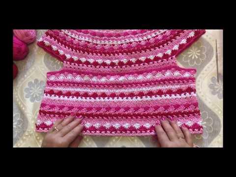 Как связать платье крючком от ванессы монторо