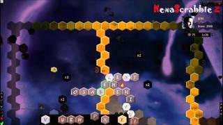 HexaScrabble jeu scrabble purebasic gameplay