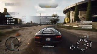 Им нужно преподать урок:перехват на Lamborghini Aventador (Need for Speed Rivals)