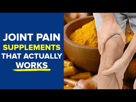 Top 7 Supplements For Joint Pain (that Actually Works!)