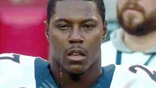 NFL Players Crying