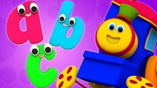 ABC Song | Small Alphabet Song | Learning Street With Bob The Train | Cartoons Videos by Kids Tv