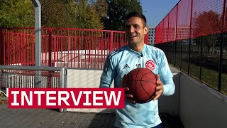 LET'S PLAY H-O-R-S-E 🏀 | Tadic shows off his basketball skills