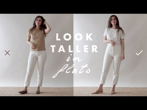 How to Look Taller & Slimmer – Petite Tips for Wearing Flats