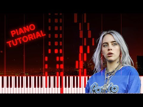 Billie Eilish - All The Good Girls Go To The Hell (Piano Tutorial) thumbnail