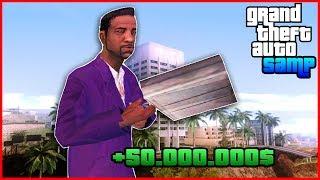 КАК ЗАРАБОТАТЬ 60.000.000$ ДЕНЕГ НА 1 УРОВНЕ В GTA SAMP DIAMOND ROLE PLAY ONYX