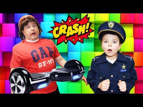 Download Youtube: Sketchy Mechanic and the Hoverboard Experience Hilarious Kids Video with Dad