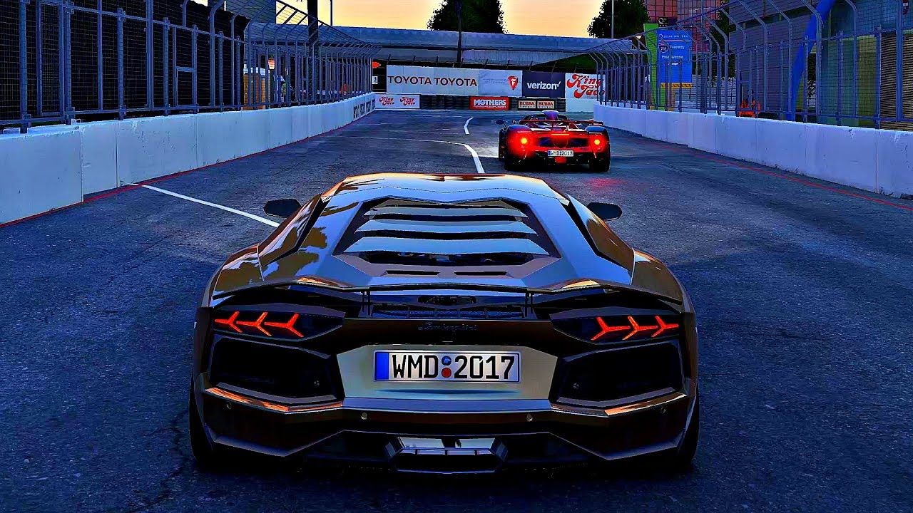 project cars 2 gameplay lamborghini aventador lp700 4 doovi. Black Bedroom Furniture Sets. Home Design Ideas