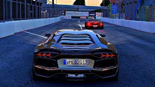Project CARS 2 - Gameplay Lamborghini Aventador LP700-4 @ Long Beach [4K 60FPS ULTRA]