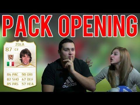 FIFA 14 | UNA LEYENDA! Pack Opening con Andrea | Quiero TOTS BBVA